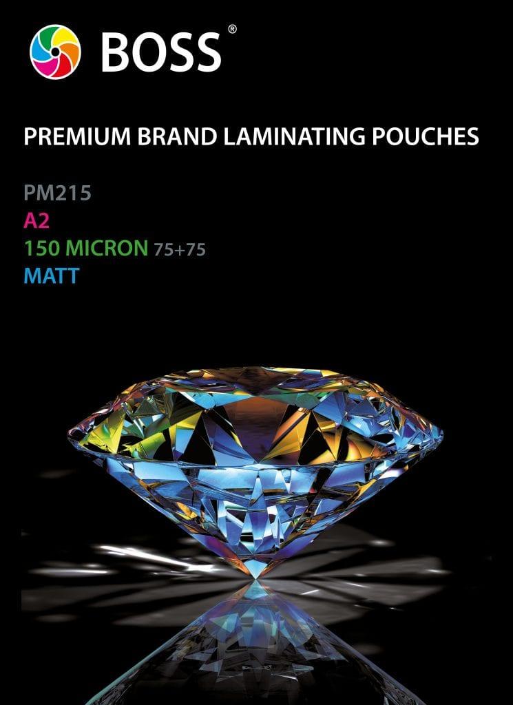 A2 Matt Pouches